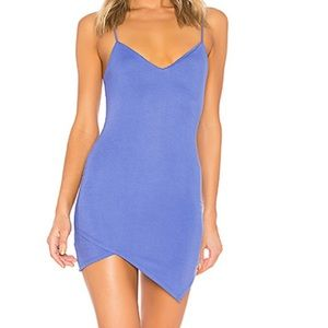 NWT Lovers + Friends Aria Bodycon Periwinkle Dress
